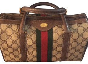 Gucci Satchel in Brown/tan