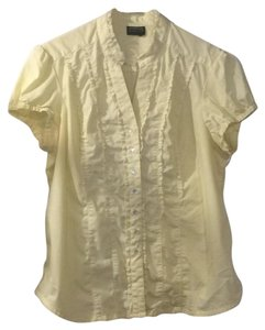 George Button Down Shirt light yellow