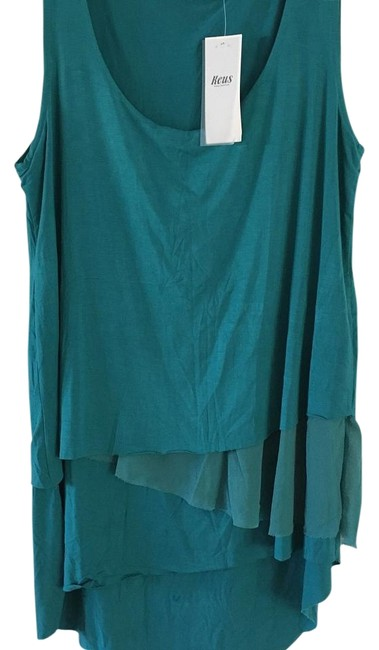 Preload https://item2.tradesy.com/images/turquoise-tank-topcami-size-8-m-18981616-0-4.jpg?width=400&height=650