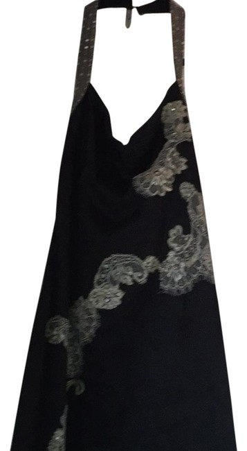 Preload https://img-static.tradesy.com/item/18981649/papell-boutique-black-mid-length-cocktail-dress-size-6-s-0-1-650-650.jpg