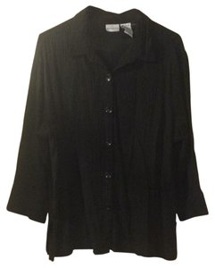 White Stag Button Down Shirt black
