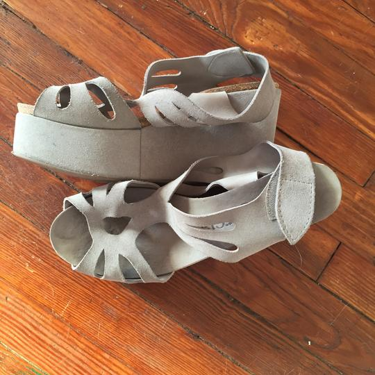 Pedro Garcia Grey Wedges