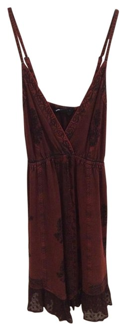 Preload https://img-static.tradesy.com/item/18981967/deep-red-and-black-other-above-knee-short-casual-dress-size-4-s-0-1-650-650.jpg