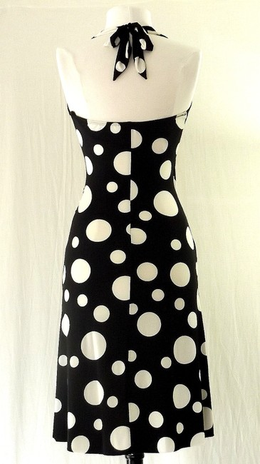 Other short dress Black/White Spandex Halter And Short on Tradesy