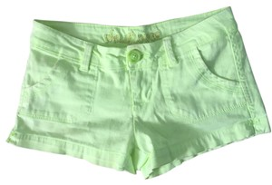 WallFlower Mini/Short Shorts Green/yellow