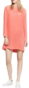 Equipment Long Sleeve Shift Dress