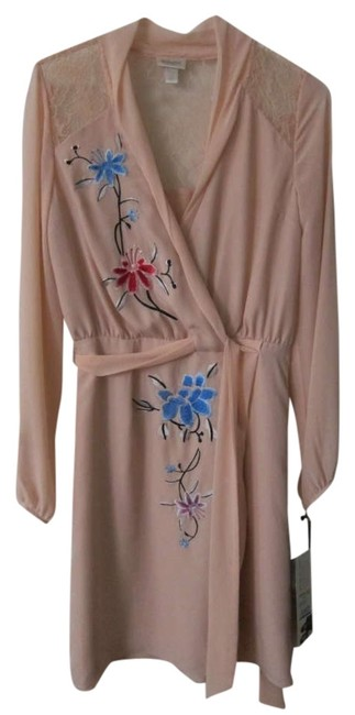 Rodarte for Target Spring Kimono Kimono Embroidery Lace Knee Length Long Sleeve Dress
