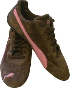 Puma Sneaker Suede Pink Womens Vintage Brown Athletic