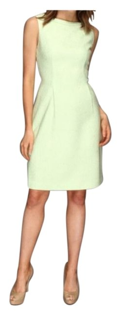 Preload https://item1.tradesy.com/images/elie-tahari-green-lime-tweed-with-neon-exposed-back-zipper-above-knee-cocktail-dress-size-4-s-18983905-0-2.jpg?width=400&height=650
