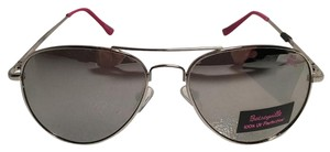 Betsey Johnson NEW!! Mirror Aviator Sunglasses by Betseyville