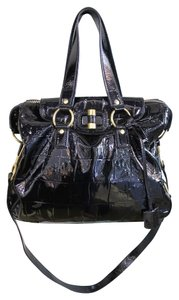Saint Laurent Yves Ysl Patent Leather Pre-owned Ysl Shoulder Bag