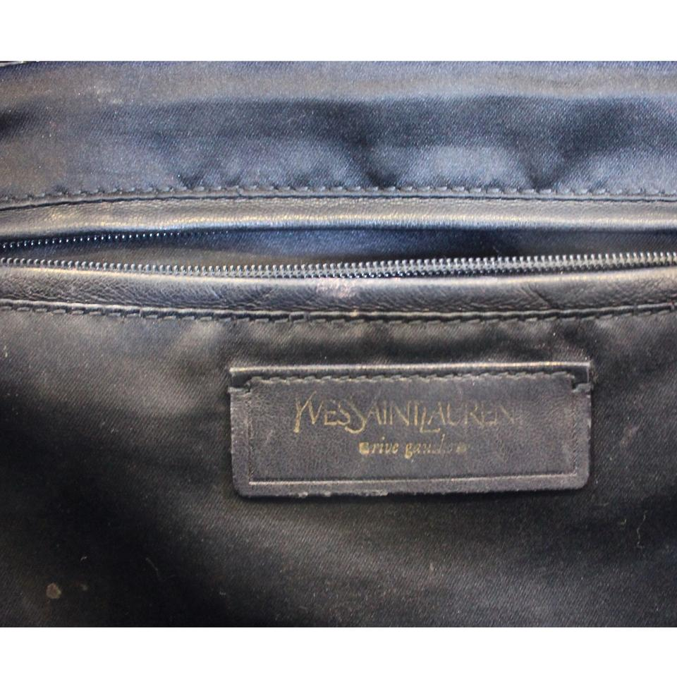 f58e55f2f1f7 Saint Laurent Yves Ysl Patent Leather Pre-owned Shoulder Bag.  123456789101112