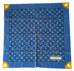 Louis Vuitton Louis Vuitton Denim Scarf