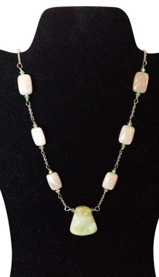 Preload https://item1.tradesy.com/images/boston-proper-tan-and-green-opal-necklace-18984190-0-1.jpg?width=440&height=440
