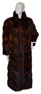 Saga Furs Fur Trench Fur Coat