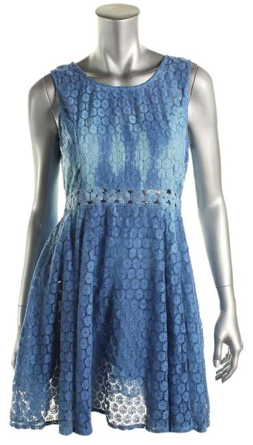 RAGA short dress Blue on Tradesy