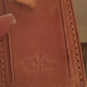 Louis Vuitton Auth Lv Name Tag