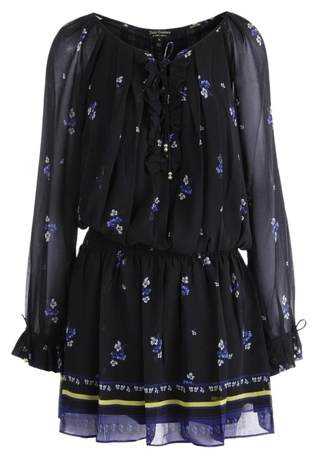 Preload https://item5.tradesy.com/images/juicy-couture-black-mid-length-cocktail-dress-size-petite-8-m-18984724-0-1.jpg?width=400&height=650