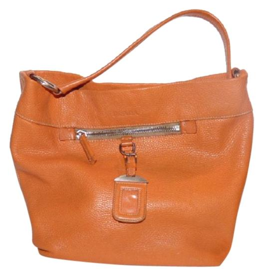 Preload https://item1.tradesy.com/images/prada-vintage-pursesdesigner-purses-orange-textured-leather-hobo-bag-18984805-0-1.jpg?width=440&height=440