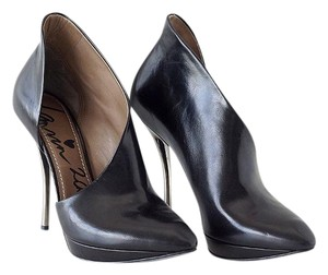 Lanvin 2010 Ankle Stiletto Black Boots