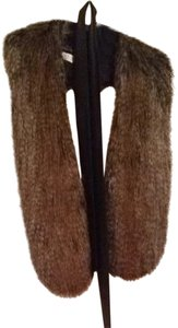 Donna Salyer Faux Fur Wrap With Belt