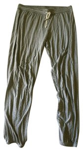 J.Crew Relaxed Pants Gray and white stripes