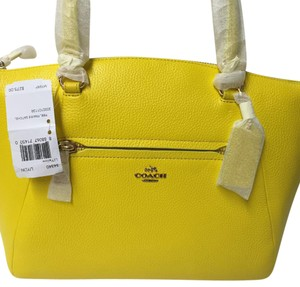 Coach 34340 Prairie Satchel in Yellow