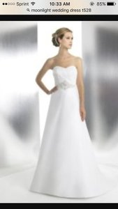 Moonlight Bridal Moonlight T528 Wedding Dress