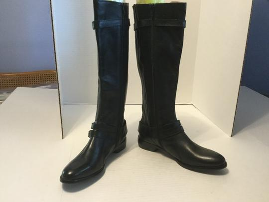 Ballasox by Corso Como Insoles Straps Buckles Full Zippers Black leather padded new knee Boots