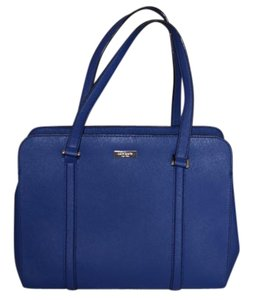 Kate Spade Leather Satchel in Royal Blue