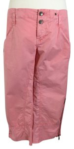 Joie Cargo Capri/Cropped Pants Pink