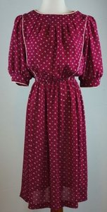 Other Vintage By Act Ii Floral Print Blouson Dress