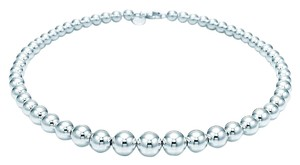 Tiffany & Co. TIFFANY & Co. BEADS Sterling Silver NECKLACE
