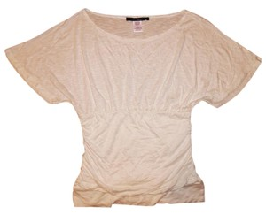 Other Batwing Dolman Sheer Top White