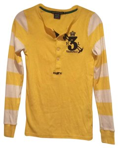 Ralph Lauren T Shirt Yellow