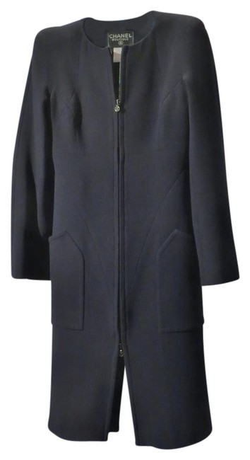 Preload https://item4.tradesy.com/images/chanel-navy-blue-womens-97-wool-long-sleeve-knee-length-night-out-dress-size-6-s-18988423-0-1.jpg?width=400&height=650