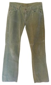 Seven7 Cords Corduroy Jeans Boot Cut Pants green