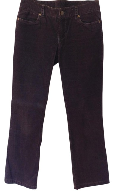 J.Crew Cords Corduroys Favorite Fit Boot Cut Pants Brown