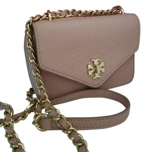 Tory Burch Champagne Rose Cross Body Bag