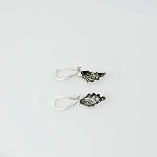 Other Sterling Silver Shell CZ Earrings