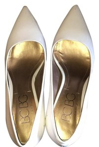 BCBGeneration Heels Bcbg White Pumps