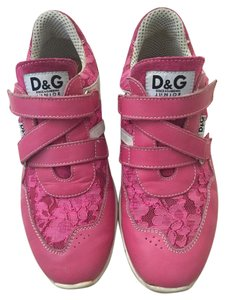 Dolce&Gabbana Lace Tennis Dolce Magenta Pink Athletic