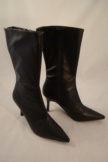 Preload https://item5.tradesy.com/images/charles-david-black-stylish-pointy-toe-mid-calf-stilleto-bootsbooties-size-us-55-regular-m-b-18989-0-0.jpg?width=440&height=440
