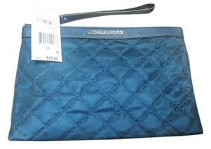 Michael Kors Mk Blue Clutch
