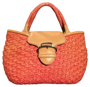Cole Haan Satchel in Pastel Coral