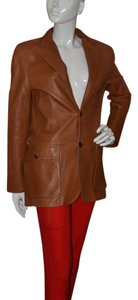 Ralph Lauren Leather Brown Leather Jacket