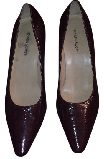 Karen Scott Burnt cranberry Pumps
