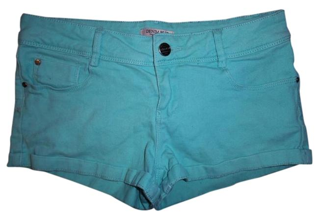 Preload https://item2.tradesy.com/images/teal-green-stretch-low-rise-size-8-m-29-30-18990466-0-1.jpg?width=400&height=650