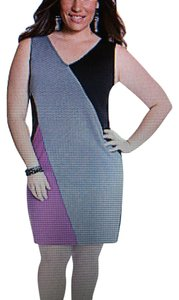 Lane Bryant Color-blocking Sheath Plus-size Dress