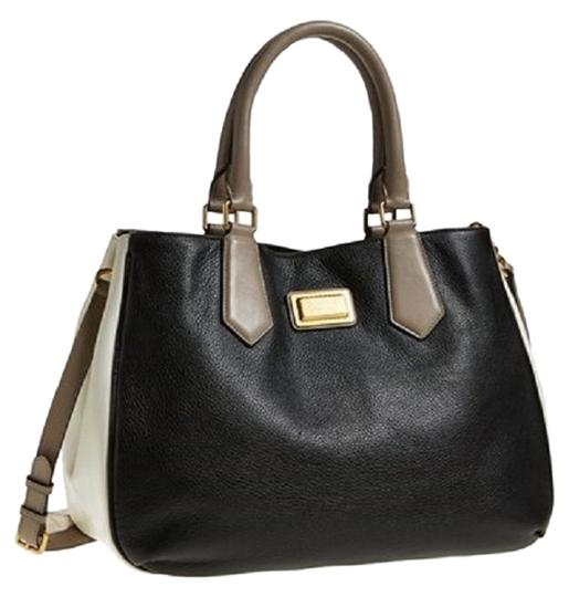 Preload https://img-static.tradesy.com/item/18990736/marc-by-marc-jacobs-color-multi-colorl-shoulder-black-multi-gold-leather-satchel-0-1-540-540.jpg